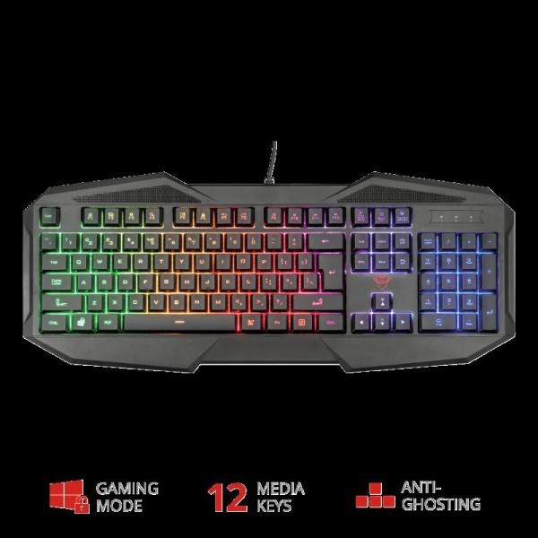 Tastatura Trust GXT 830-RW Avonn Gaming Keyboard 4