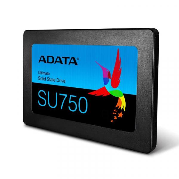 SSD ADATA, Ultimate SU750, 2.5, 256GB, SATA III, R/W 550/520MB/s 1