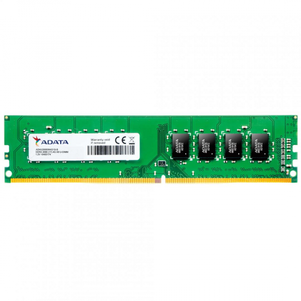 Memorie RAM ADATA, U-DIMM, DDR4, 8GB, 2666MHz, 1.2V 0