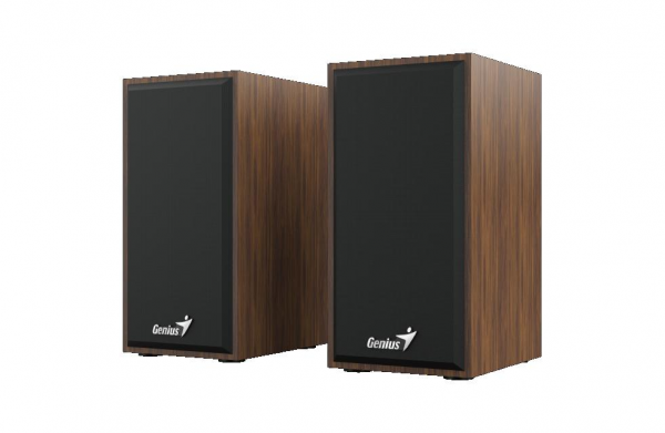 Boxe GENIUS SP-HF180 2.0 6W USB Wood 0