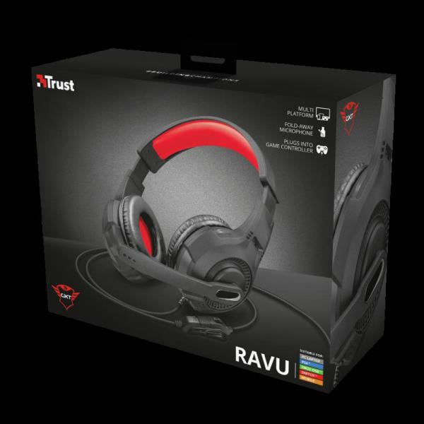 Casti cu microfon Trust GXT 307 Ravu Gaming Headset 0