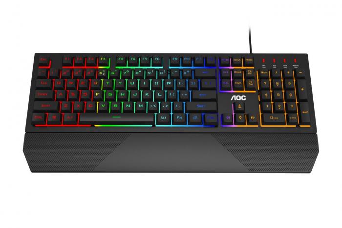 Tastatura Gaming AOC GK200 - Mechanical Feeling US Int General Model name GK200 0