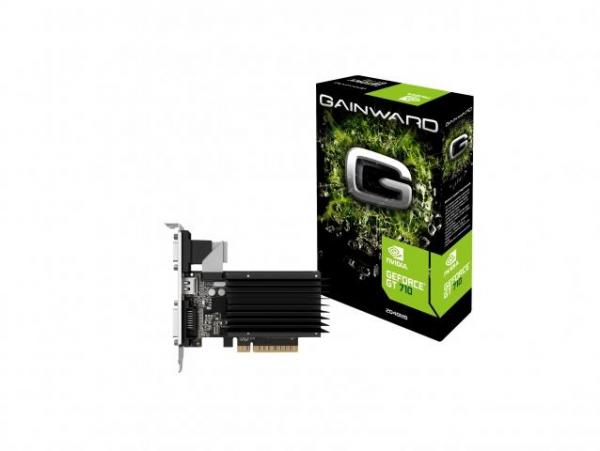 Placa video Gainward GeForce® GT 710, 1GB DDR3, 64-bit 0