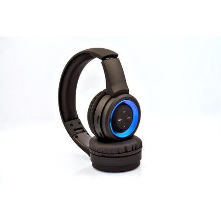 Set casti microfon Bluetooth 4.2, SK-841BX, pliere, Vakoss, negru 1