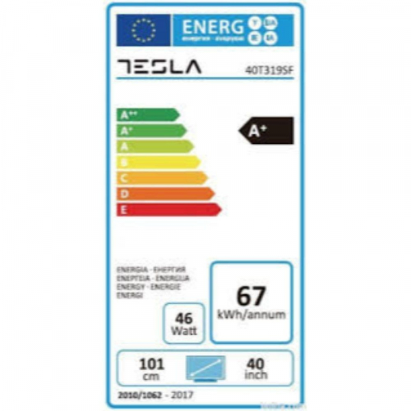 Televizor LED Tesla, 101 cm, 40T319SF, Full HD 2