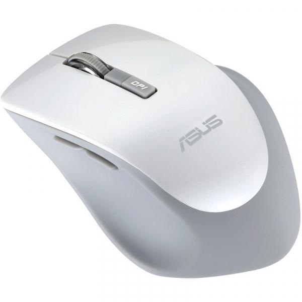 Mouse optic ASUS WT425, 1600 dpi, USB, Alb 2