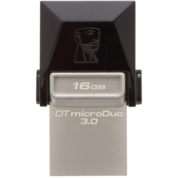 Memorie USB Kingston DataTraveler MicroDuo, 16GB, USB 3.0, OTG 1