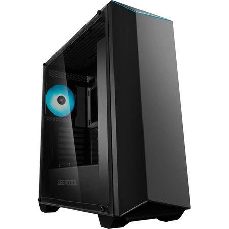 Carcasa Deepcool Earlkase RGB V2, Middle Tower, fara sursa, ATX, negru 0