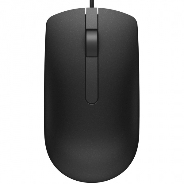 Mouse optic Dell MS116, Negru 1