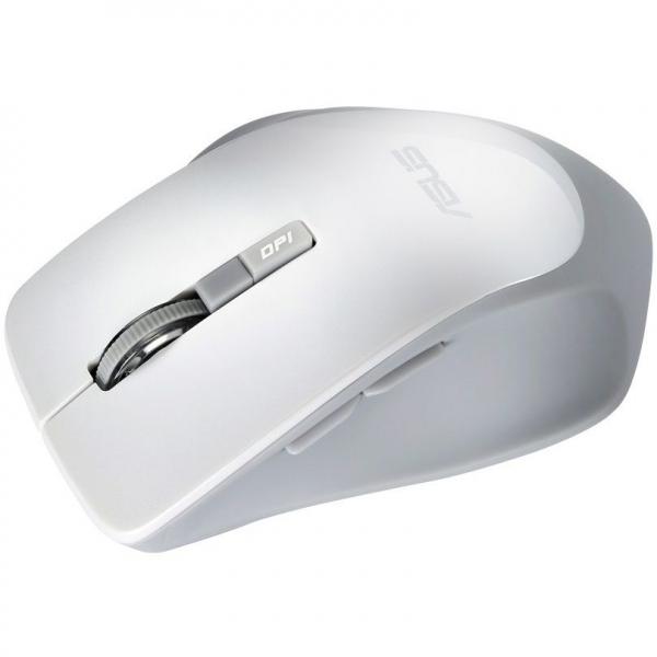 Mouse optic ASUS WT425, 1600 dpi, USB, Alb 3