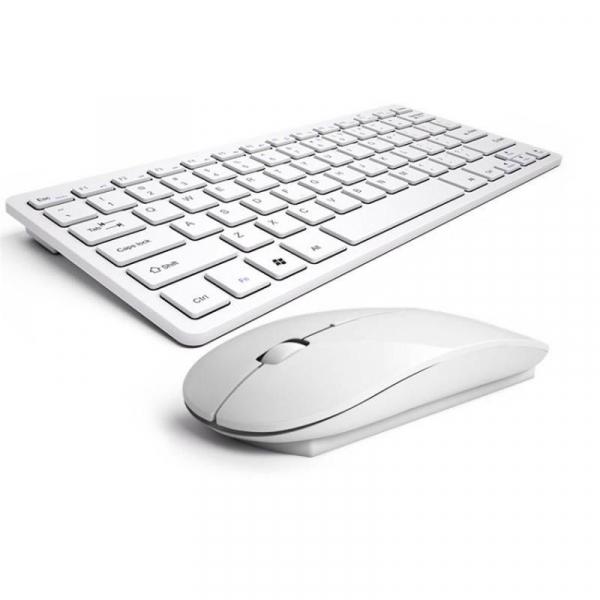 Kit Tastatura Wireless si Mouse Wireless Esperanza Liberty Alb 0