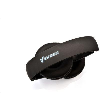 Set casti microfon Bluetooth 4.2, SK-841BX, pliere, Vakoss, negru 2