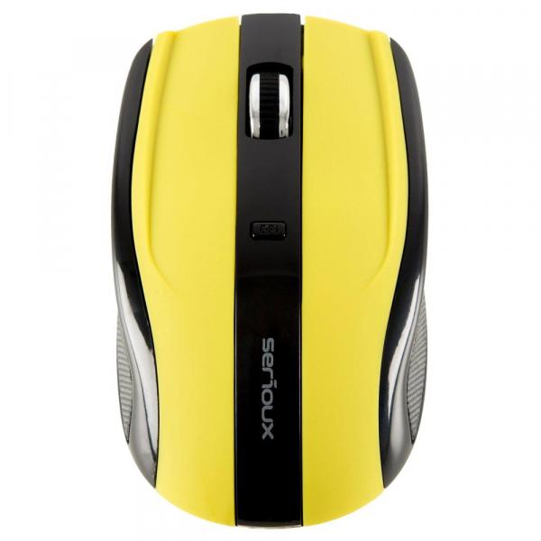 Mouse Wireless Serioux Rainbow 400, USB, Verde 1