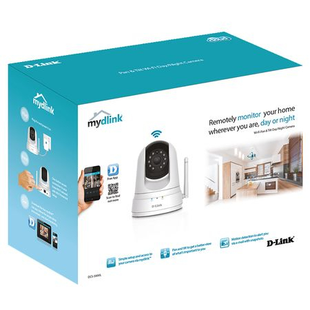 Camera de supraveghere D-Link DCS-5000L, Wireless, Senzor de miscare 1