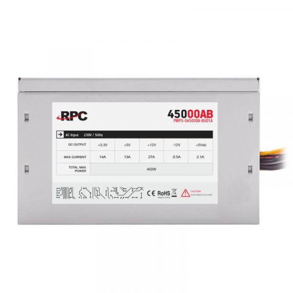 SURSA ATX 450W RPC PWPS-045000A-BU01A 3