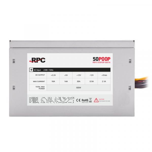 SURSA ATX 500W RPC PWPS-050P00P-BU01A 0