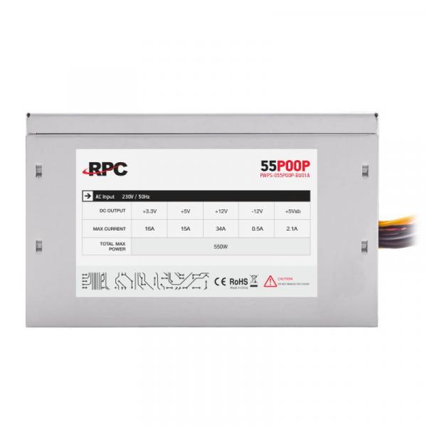 SURSA ATX 550W RPC PWPS-055P00P-BU01A 3