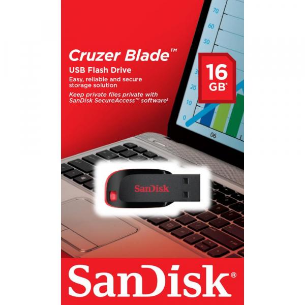 USB 16GB SANDISK SDCZ50-016G-B35 0