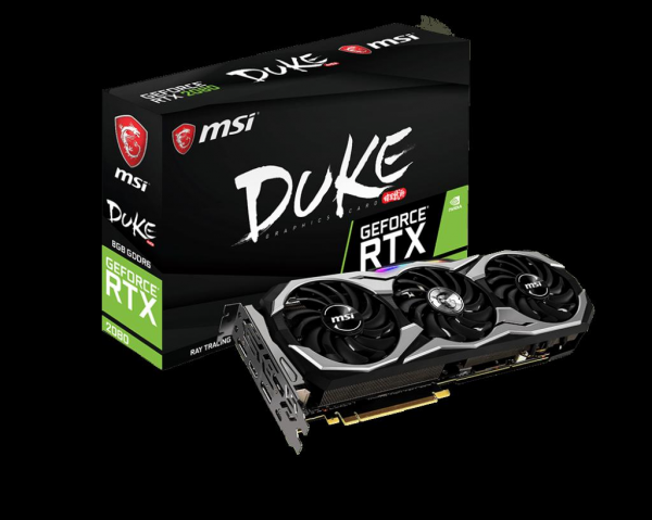 VGA MSI GEFORCE RTX 2080 DUKE 8G OC 0