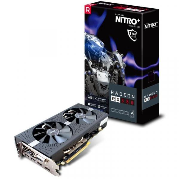VGA SAPPHIRE RADEON RX 580 4GB NITRO+ 0
