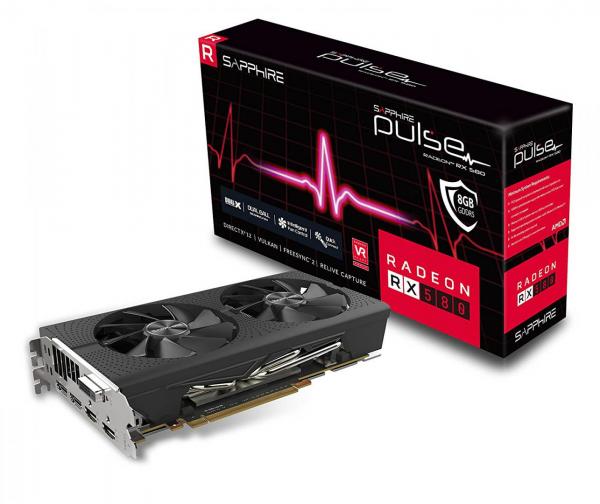 VGA SAPPHIRE RADEON RX 580 8GB PULSE 0