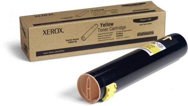 XEROX 106R01162 YELLOW TONER CARTRIDGE 0