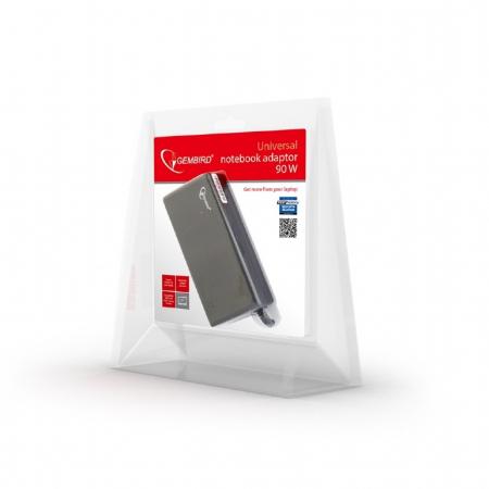 Alimentator universal Laptop GEMBIRD NPA-AC1D Gembird AC mains 90W0