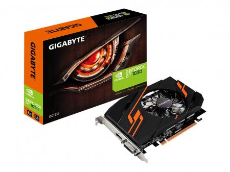 Placa video GV-N1030OC-2GI Gigabyte GeForce GT 1030 OC 2G, 2GB GDDR50
