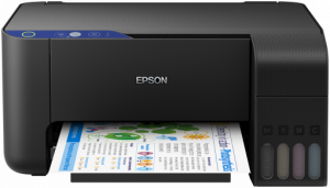 Multifunctional inkjet color Epson EcoTank L3111 CISS, A40