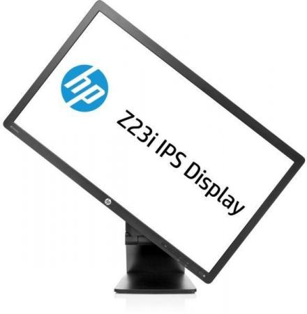 HP Z23i, 23 inch IPS LED, 1920 x 1080 Full HD, 16:9, displayport, negru, monitor second-hand0
