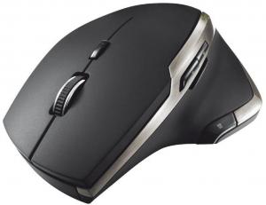 Mouse Trust Evo Advanced, Wireless, Negru0