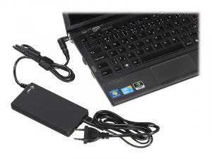 ITEC SLPA90W Adaptor alimentare i-tec Advance Ultra Slim 90W 1x port USB cu 10 conectori1