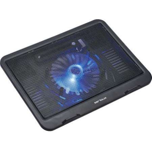 Cooler laptop Serioux SRXNCPN19 10-15.6 1 ventilator USB Negru0