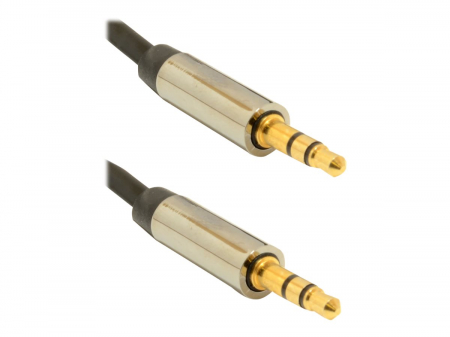 GEMBIRD CCAPB-444-1M Gembird cablu audio stereo de 3,5 mm, 1m, blister [2]