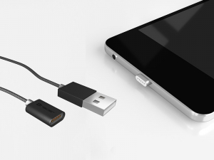 Cablu magnetic TRACER USB 2.0 Iphone AM - Lightning 1.0m [2]