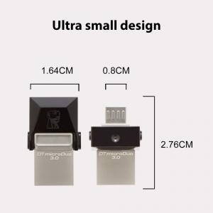Memorie USB Kingston DataTraveler MicroDuo, 32GB, USB 3.0, OTG0