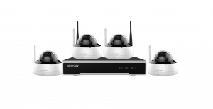 KIT 4CAMERE DOME+1NVR+1HDD WIFI 4MP0