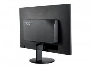 "Monitor 19.5"" AOC E2070SWN, HD+, TN , 16:9, WLED, 5 ms, 200 cd/m2, 90/50, 20M:1, VGA, VESA, Kensington lock, Black1"