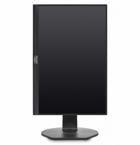"Monitor 23.8"" PHILIPS 241B7QPJEB, FHD, IPS, 16:9, 1920* 1080, 60hz, WLED, 5ms GTG, 250 cd/m2, 178/178, 20M:1/ 1000:1, Flicker Free, HDMI, VGA, USB, DP, VESA, Speakers, pivot, Kensington lock, Black  1"