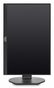 "Monitor 24.1"" PHILIPS 240B7QPJEB, WUXGA, IPS, 16:10, 1920*1200, 60hz, WLED, 5ms GTG, 300 cd/m2, 178/178, 20M:1/ 1000:1, FlickerFree, HDMI, VGA, USB, DP, VESA, Speakers, pivot, Black   0"