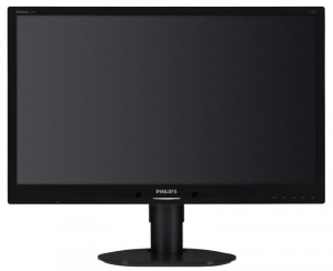 "Monitor 24"" PHILIPS 241B4LPYCB, FHD, TN, 16:9, WLED, 5 ms, 250 cd/m2, 170/160, 20M:1/ 1000:1, D-SUB, USB, DVI, DP, VESA, Speakers, pivot, Black2"