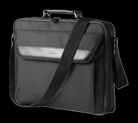 "Geanta Trust Atlanta Carry Bag 16"" laptop black0"