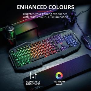 Tastatura Trust GXT 830-RW Avonn Gaming Keyboard0