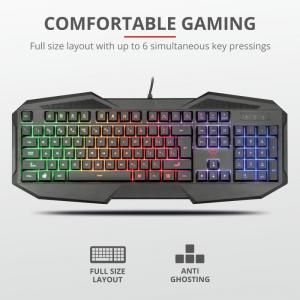 Tastatura Trust GXT 830-RW Avonn Gaming Keyboard1