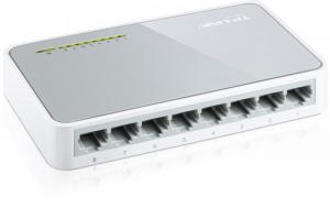 Switch TP-Link TL-SF1008D, 8 porturi 10/100Mbps, Desktop, plastic0