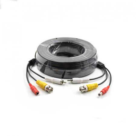 Cablu video cu alimentare si  audio 30 metri LN-EC04-30M-AUDIO0