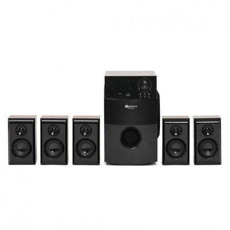 Boxe Serioux 5.1 SoundBoost HT5100C, 140W RMS, culoare lemn de cires [1]