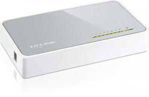 Switch TP-Link TL-SF1008D, 8 porturi 10/100Mbps, Desktop, plastic1