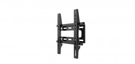 Suport perete LCD/Plasma Serioux, TV22F, 14-42, Fix, VESA max 200x200, max 25Kg, profil 48mm, culoare negru [0]