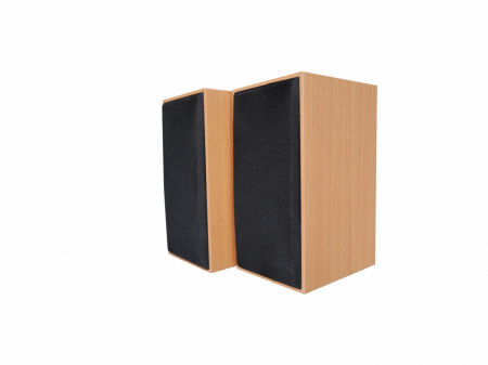 Boxa Serioux, 2.0 SoundBoost 2000C, 6W, frecvența raspuns: 100Hz- 18KHZ,raport semnal/zgomot: 70 dB, conexiune: jack 3,5 mm, alimentare: USB 5V1A, carcasă din lemn3